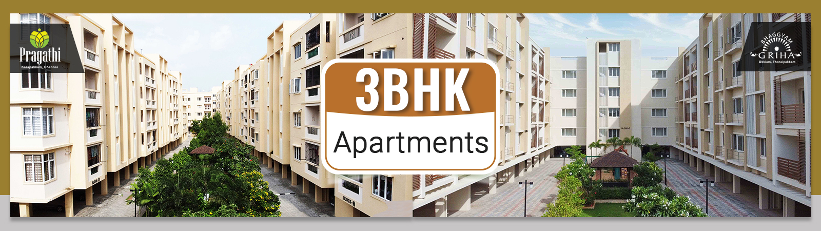 3 BHK Apartments in Thoraipakkam